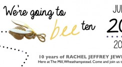 Rachel Jeffrey 10th Birthday banner