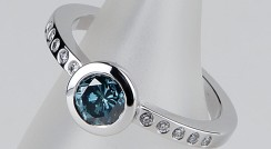 Cannikin with treated Blue Diamond