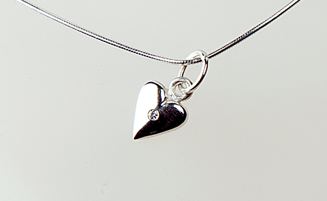 Heart Big with Diamond