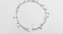 Iota Bracelet silver