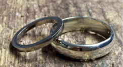 Making your own wedding rings