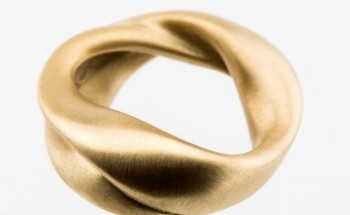 Maelstrom gold ring
