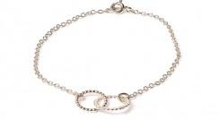 Pom Pom silver bracelet