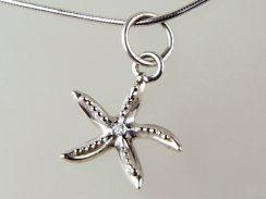 Starfish with Diamond