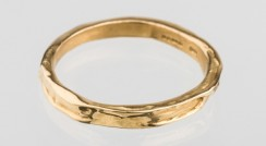 Tundra narrow 18ct yellow gold