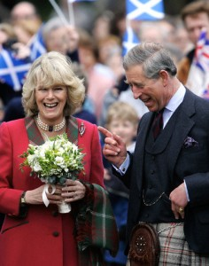 Charles and Camilla Pearl Of The Dee