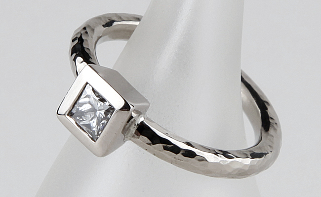 Vortex with Princess Cut Diamond