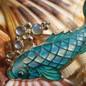 enamel-fish